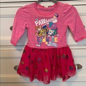Paw Patrol Toddler Girls Dress - 2T
